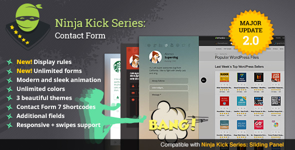 Ninja Kick: WordPress Contact Form