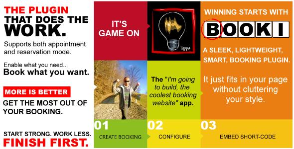 Booki - A booking plugin
