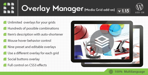 Media Grid - Overlay Manager